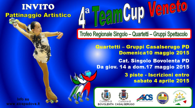 14 17 maggio 2015 TEAMCUP